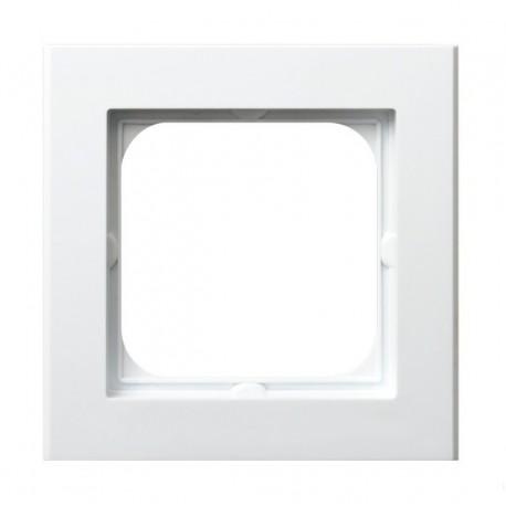 SONATA Ramka pojedyncza, biały R-1R/00