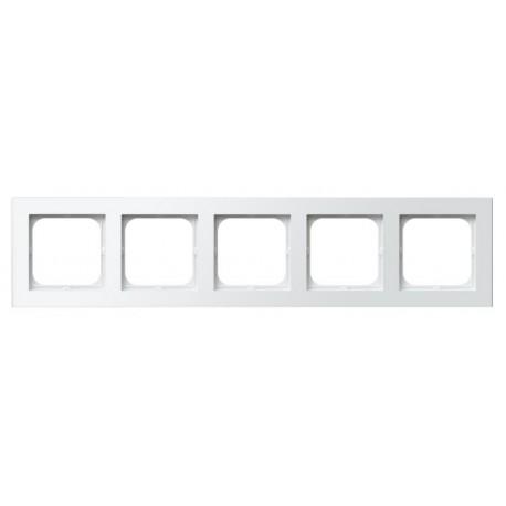 SONATA Ramka pięciokrotna, biały R-5R/00