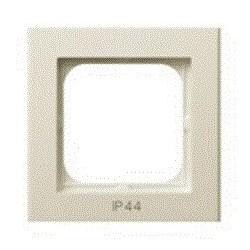 SONATA Ramka pojedyncza do łączników IP44, ecru RH-1R/27