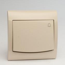 VEGA Przycisk -dzwonek- kolor jasny beż ŁP-6V.JB