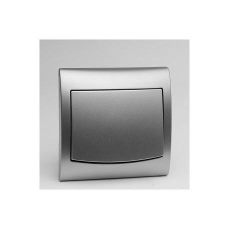 VEGA Łącznik pojedynczy (jednobiegunowy) kolor srebro ŁP-1V.SR