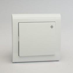 AURA Łącznik krzyżowy kolor biały (ŁP-4U.BI)