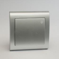 AURA Łącznik krzyżowy kolor srebro (ŁP-4U.SR)