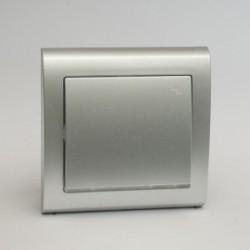 AURA Łącznik schodowy z podświetleniem kolor srebro (ŁP-3US.SR)