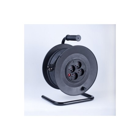 Przedłużacz bębnowy PB4T-315/50 OMY, 4-gniazdowy z zabezpieczeniem termicznym 50mb