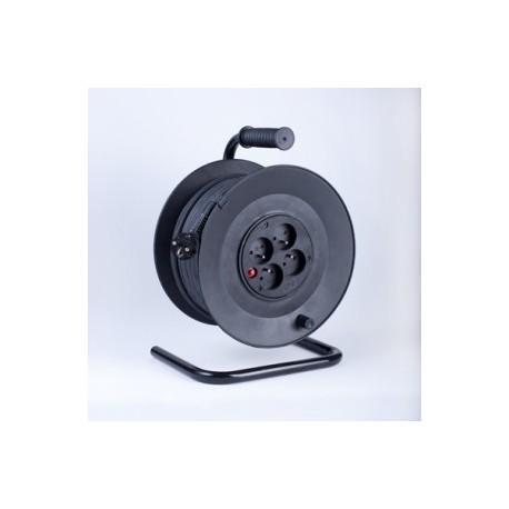 Przedłużacz bębnowy PB4T-315/50 OW, 4-gniazdowy z zabezpieczeniem termicznym 50mb