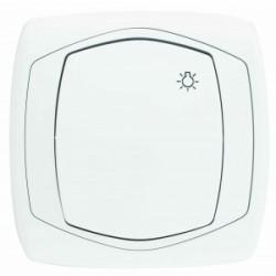 COMFORT Przycisk światło kolor biały (ŁP-5X.BI)