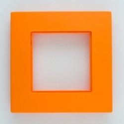 ROSA Ramka potrójna uniwersalna, kolor pomarańcza