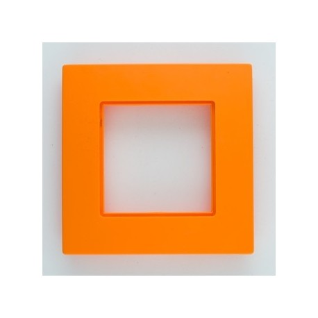 ROSA Ramka poczwórna uniwersalna, kolor pomarańcza