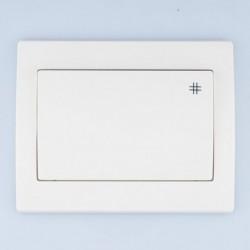 FENIX Łącznik krzyżowy kolor biały ŁP-4M.BI