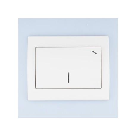 FENIX Łącznik schodowy podświetlany kolor biały ŁP-3MS.BI