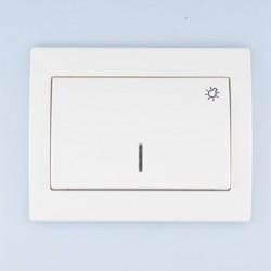 FENIX Łącznik -światło-  podświetlany kolor biały ŁP-5MS.BI