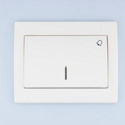 FENIX Łącznik -dzwonek- podświetlany kolor biały ŁP-6MS.BI