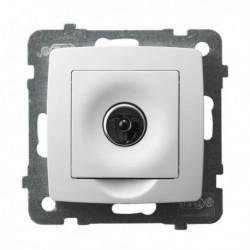 KARO Ściemniacz elektroniczny sterowany pilotem lub dotykiem, bez ramki, kolor biały ŁP-8SE/m/00