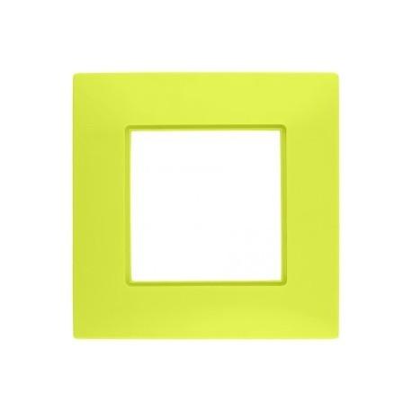 ROSA Ramka pięciokrotna uniwersalna, kolor trawa cytrynowa