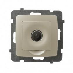 KARO Ściemniacz elektroniczny sterowany pilotem lub dotykiem, bez ramki, kolor ecru perłowy ŁP-8SE/m/42
