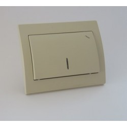 FENIX Łącznik schodowy podświetlany kolor jasny beż ŁP-3MS.JB