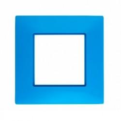 ROSA Ramka potrójna uniwersalna, kolor błękit nieba