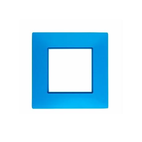 ROSA Ramka poczwórna uniwersalna, kolor błękit nieba