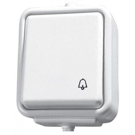 CEDAR Przycisk -dzwonek-, kolor biały WNT101C01
