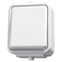 CEDAR Łącznik jednobiegunowy, kolor biały WNT1OOC01
