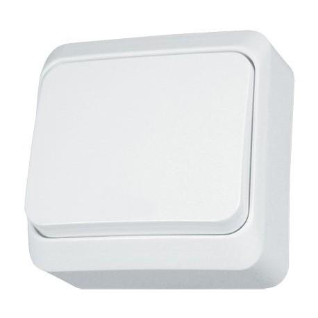 PRIMA Łącznik jednobiegunowy, kolor biały WNT1OOP