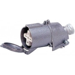 TAREL Gniazdo metalowe stałe 32A/4ST/500V
