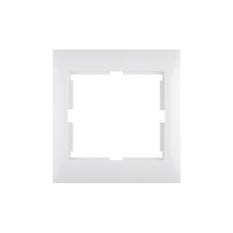 SIGMA Ramka pojedyncza, kolor biały