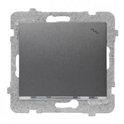 SIGMA Łącznik schodowy z podświetleniem bez ramki, kolor grafit mat ŁP-3DS/M.GR