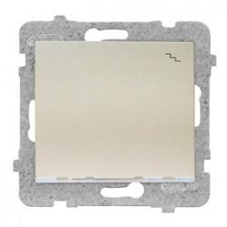 SIGMA Łącznik schodowy z podświetleniem bez ramki, kolor satyna ŁP-3DS/M.ST