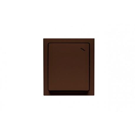 BRAVO Łącznik schodowy IP54, kolor brązowy łnh-3b.br