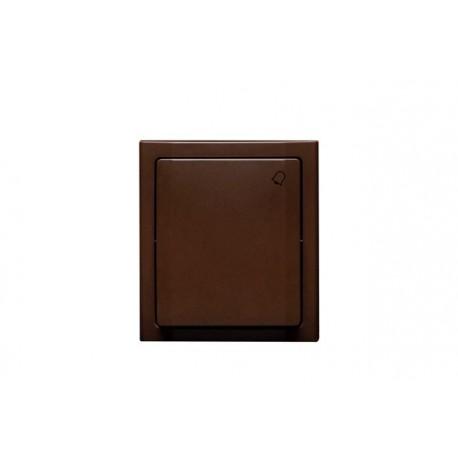 BRAVO Przycisk -dzwonek- IP54, kolor brązowy łnh-6b.br