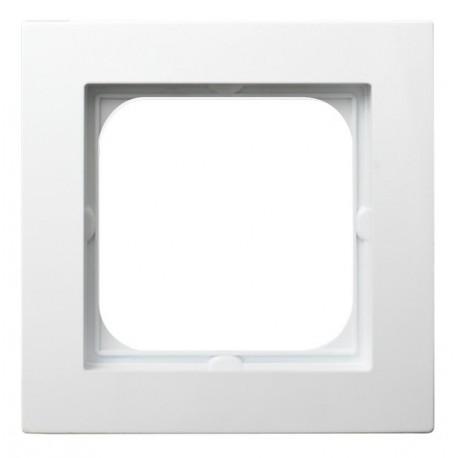AS Ramka pojedyncza, kolor biały R-1G/00