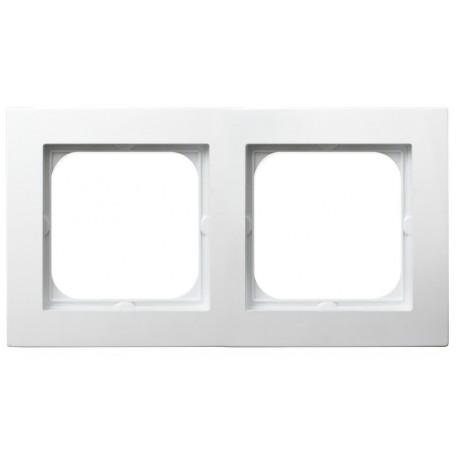 AS Ramka podwójna, kolor biały R-2G/00