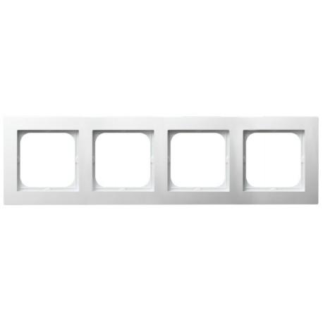 AS Ramka poczwórna, kolor biały R-4G/00