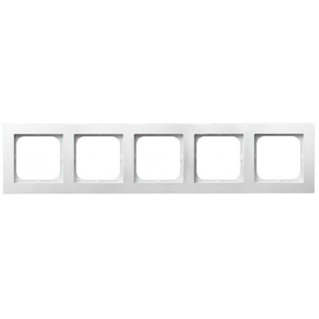 AS Ramka pięciokrotna, kolor biały R-5G/00